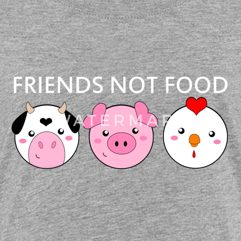 Animals Are Friends Not Food - Kids' Premium T-Shirt