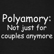 Design ~ Poly Couples Mens Tee