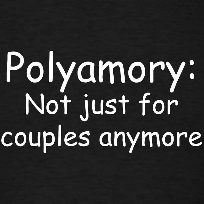 Poly Couples Mens Tee
