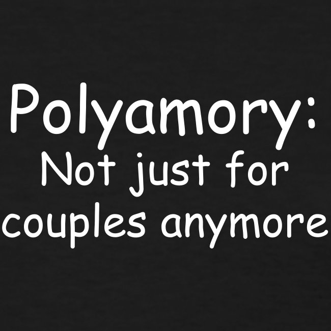 Poly Couples Womens Tee