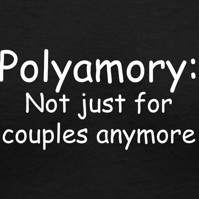 Poly Couples V-Neck