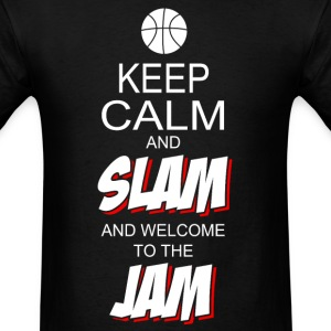 Keep Calm & Slam (mens) - Men's T-Shirt