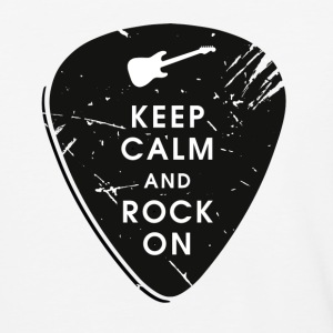 Keep calm and rock on T-Shirts - Baseball T-Shirt