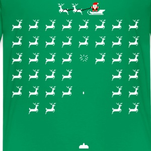 Santa on the run - Kids' Premium T-Shirt