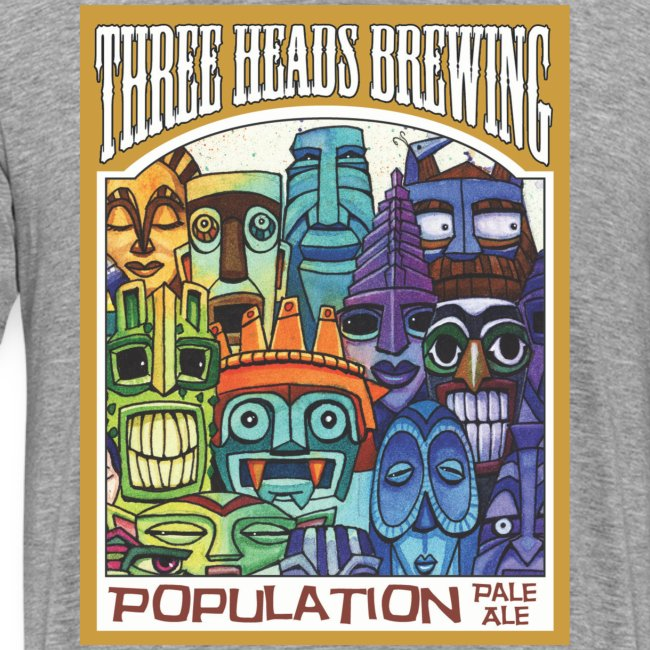 Population Pale Ale - Black Logo (Big Sizes)