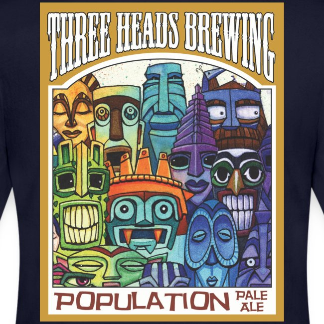 Population Pale Ale - White Logo