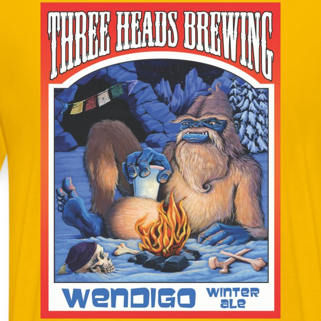 Wendigo Winter Ale - Black Logo (Big Sizes)