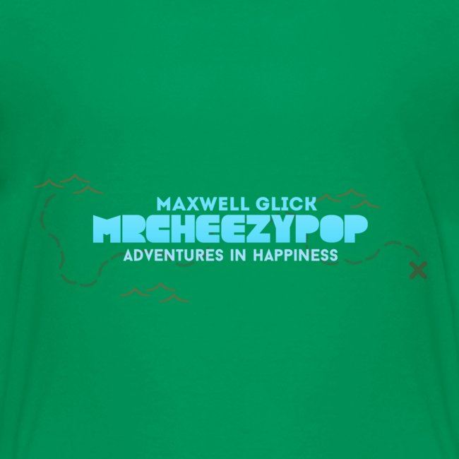 Kids mrcheezypop Adventures In Happiness Map T-Shirt