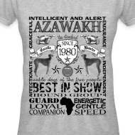 Design ~ Women's Azawakh 'Best in Show' T shirt