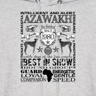 Design ~ Azawakh 'Best in Show' Hoodie