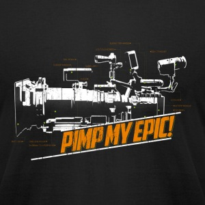 Epic Pimp - Men's T-Shirt by American Apparel