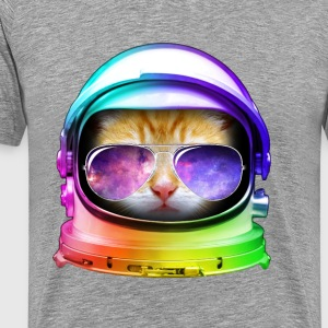 Kitty in Space - Men's Premium T-Shirt