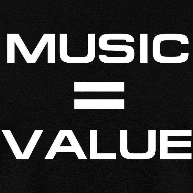 Music = Value