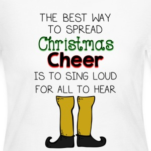 Christmas Cheer Buddy Elf Long Sleeve Shirts - Women's Long Sleeve Jersey T-Shirt