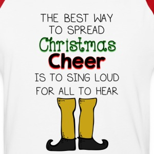 Christmas Cheer Buddy Elf T-Shirts - Baseball T-Shirt