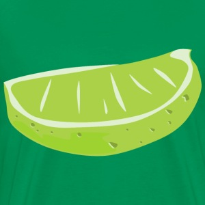 Lime Wedge - Men's Premium T-Shirt