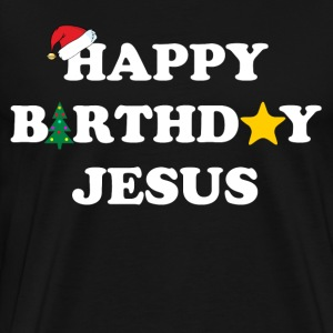 happy birthday jesus T-Shirts - Men's Premium T-Shirt