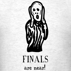 The Scream: Finals are Near! - Men's T-Shirt