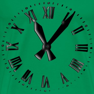Retro Clockface - Men's Premium T-Shirt