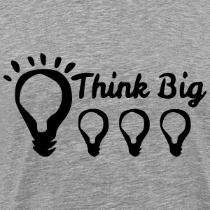 Think Big T-Shirts - Men's Premium T-Shirt