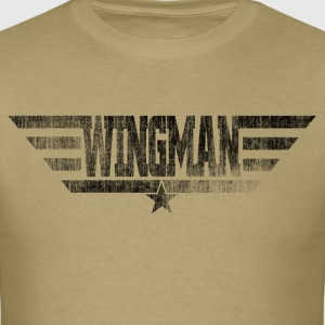 Wingman Distressed - Men's T-Shirt