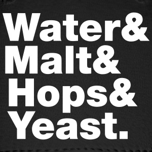 Beer | Water & Malt & Hops & Yeast. Caps - Baseball Cap