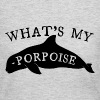What's My Porpoise - Women's Long Sleeve Jersey T-Shirt
