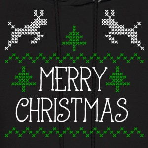 Merry Christmas design I Hoodies - Men's Hoodie
