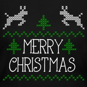 Merry Christmas design I Long Sleeve Shirts - Women's Long Sleeve Jersey T-Shirt