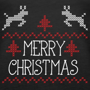 Merry Christmas design II Tanks - Women's Premium Tank Top