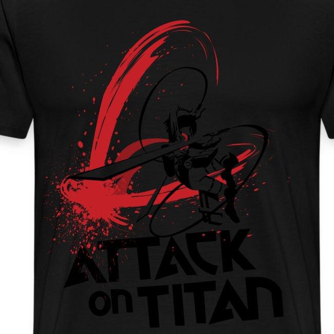 Cifer69 Apparels And Merchandise Attack On Titan Mikasa Shirt