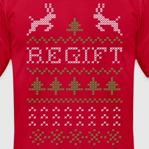 Regift Christmas present II T-Shirts - Men's T-Shirt by American Apparel