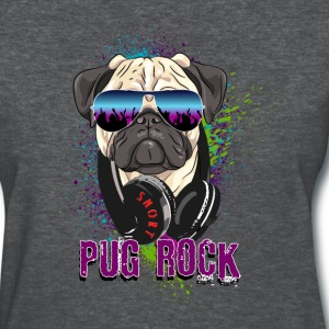DJ Pug Rock - Women's T-Shirt