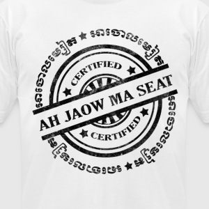 Men's Ah Jaow Ma Seat - Men's T-Shirt by American Apparel