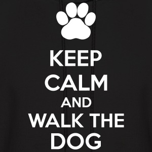 Keep Calm And Walk The Dog Hoodies - Men's Hoodie