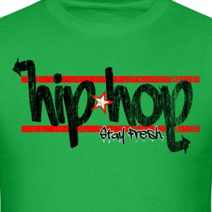 Hip Hop Stay Fresh Washed - Men's T-Shirt