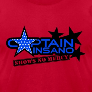 Captain Insano-for-light - Men's T-Shirt by American Apparel