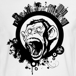 Urban Monkey Long Sleeve Shirts - Men's Long Sleeve T-Shirt