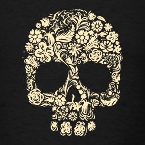 Skull Flower - Men's T-Shirt