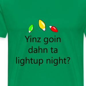 Light Up Night - Pittsburghese T-Shirts - Men's Premium T-Shirt