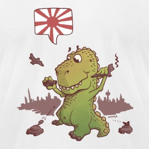 godzilla Japan T-Shirts - Men's T-Shirt by American Apparel