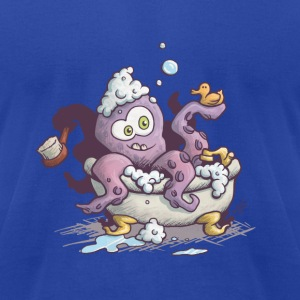 release the kraken T-Shirts - Men's T-Shirt by American Apparel