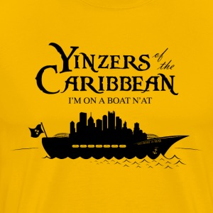 Yinzers of the Caribbean - Men's Premium T-Shirt