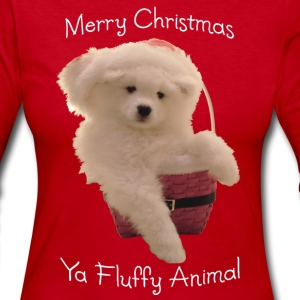 Merry Christmas, ya fluffy animal! - Women's Long Sleeve Jersey T-Shirt