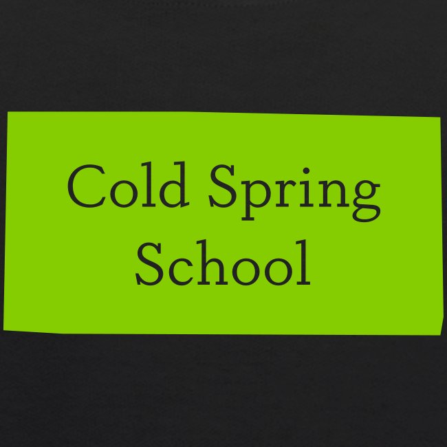 Cold Spring Kid's  Black Hoodie