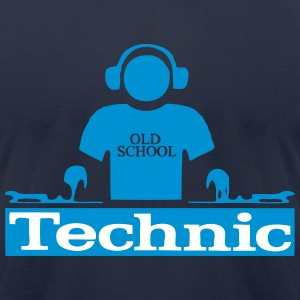 Technic DJ shirt - Men's T-Shirt by American Apparel