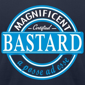Bastard label - Men's T-Shirt by American Apparel