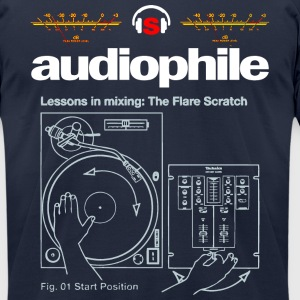 audiophile - Men's T-Shirt by American Apparel