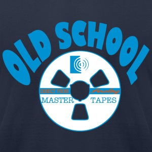 Old School music - Men's T-Shirt by American Apparel