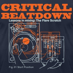 Critical Beatdown shirt - Men's T-Shirt by American Apparel